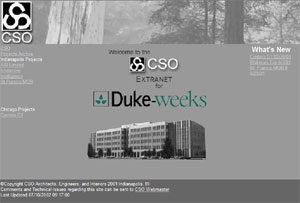 CSO / Duke Intranet